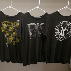 DKNY XL Graphic Tee Bundle